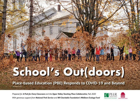 School's Out(doors): Place-based Education (PBE) Responds to COVID-19 and Beyond