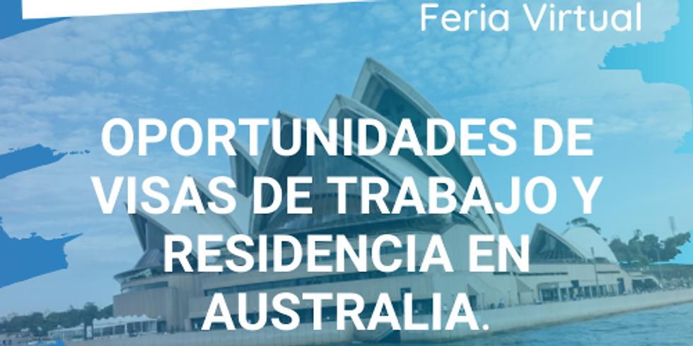 Oportunidades de visas de trabajo y residencia en Australia  - Facebook Live