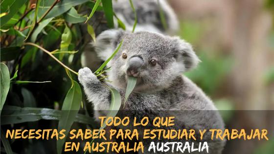 Todo lo que necesitas saber para estudiar y trabajar en Australia