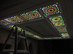 Decke mit Beleuchtung