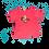 Thumbnail: Lamb Girl Toddler Tee (Pink)