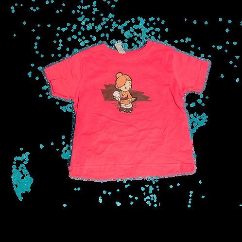 Lamb Girl Toddler Tee (Pink)