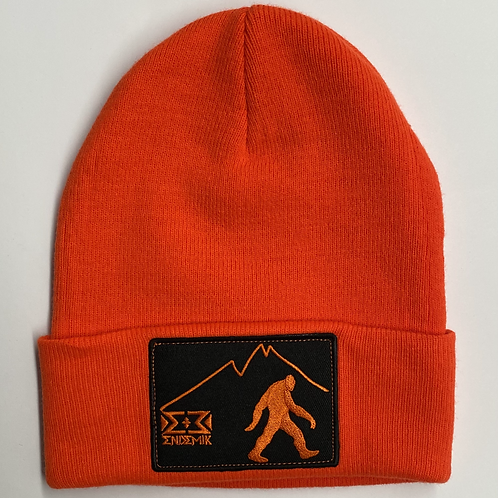 Orange Bigfoot Beanie