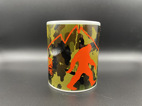 Bigfoot Camo Cup