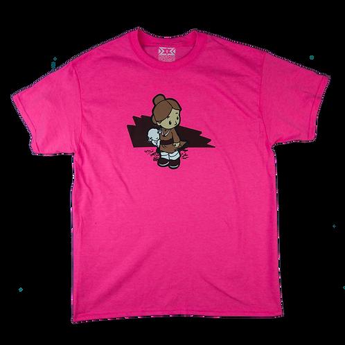 Lamb Girl (Safety Pink)