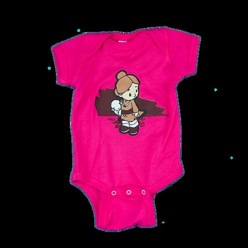 Lamb Girl (Infant Safety Pink)