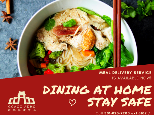 CCACC Meal Delivery Service