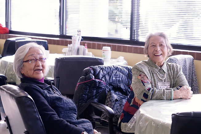 happy seniors, adult daycare, senior care
