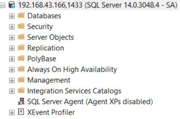 SQL Server Agent is disabled!