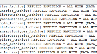 How to disable Data Compression on tables in whole database in SQL Server 2008R2?