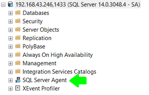 SQL Server Agent has been enabled successfully!