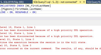Resumable Online Index Create in SQL Server 2019