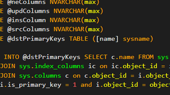 Dynamic SQL Merge Script for Generate Merge statement