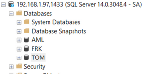 Restore Databases!