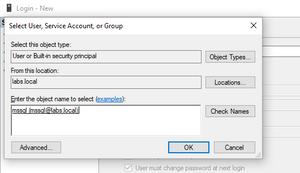 Add AD login mssql on SQL Server