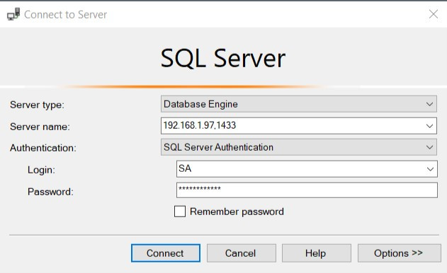 Connect to Server