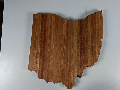 Giant Ohio Silhoette Cutting/Serving Board