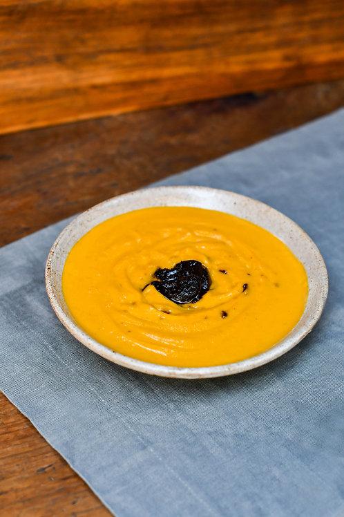 Velouté de Abóbora, Cenoura e Alho Negro - 2 porções - 500g