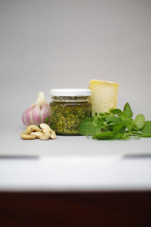 Pesto de manjericão - 2 porções - 120g