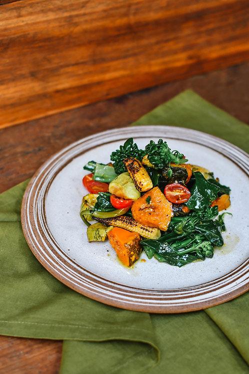 Salada de brócolis - 2 porções - 450g