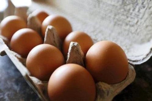 1/2 dúzia de ovos caipira
