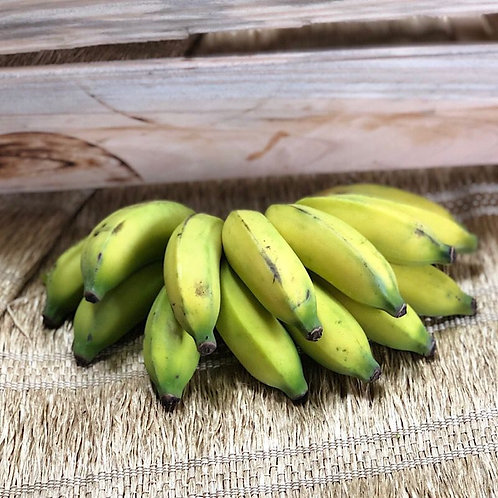 Banana prata sem agrotóxico - 500g