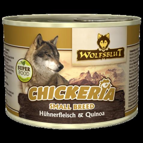Chickeria Hühnerfleisch mit Quinoa small breed 15x190g