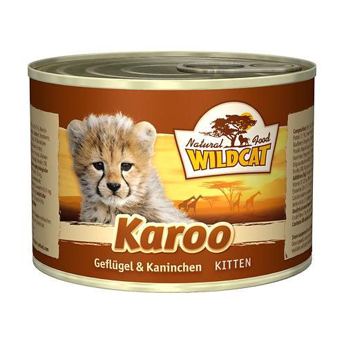 Wildcat Karoo Kitten 200g - Geflügel & Kaninchen