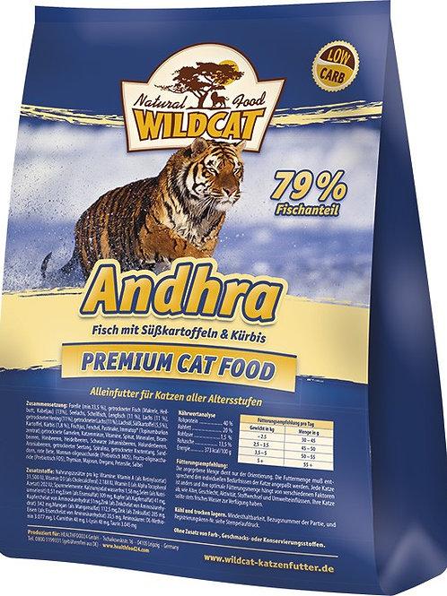 Wildcat Andhra Adult 500g - Fisch