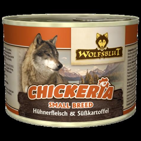 Chickeria Hühnerfleisch mit Süßkartoffeln small breed 15x190g