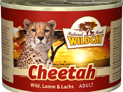 Wildcat Cheetah Adult 200g - Wild, Lamm & Lachs