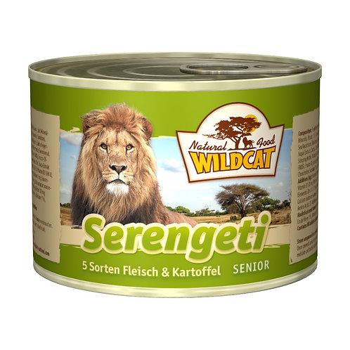 Wildcat Serengeti Senior 200g - 5 Sorten Fleisch