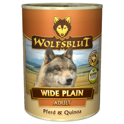 Wide Plain Quinoa 12x395g - Pferdefleisch