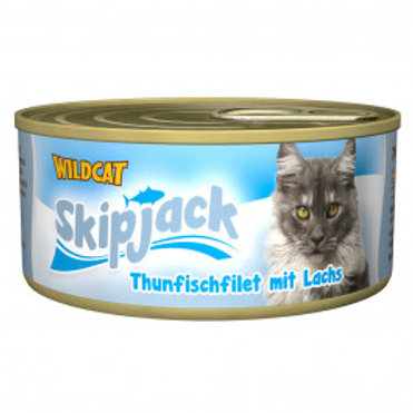 Wildcat Skipjack Lachs 3x70g