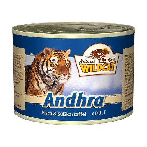 Wildcat Andhra Adult 200g - Fisch