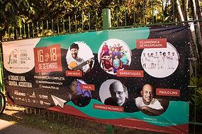 Criação de toda comunicação e ambientes do festival