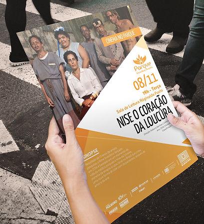 Criação de cartazes de divulgação da programação do Parque