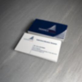 Criação dos cartões de visita