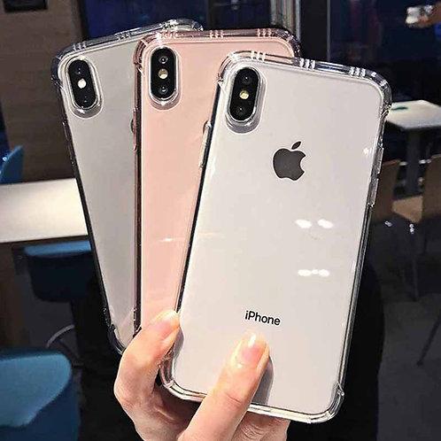 Shockproof Clear Phone Case iPhone 12 11 11Pro Max Xr Xs MaxXr Xs Max 6 7 8 Plus