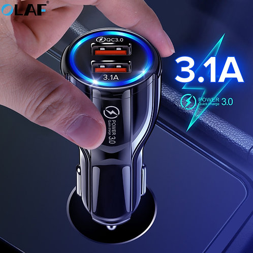 Car Charger Fast Quick Charge 3.0
