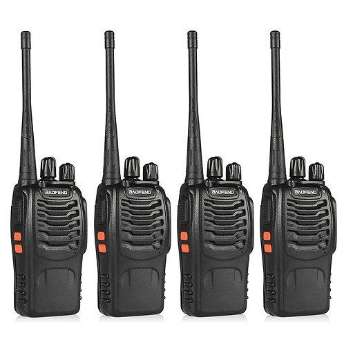 4pcs BaoFeng BF-888S Walkie Talkie UHF400-470MHZ