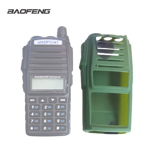 Baofeng UV-82 Walkie Talkie Rubber Case UV82 Camouflage Silicone Cover