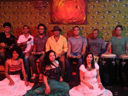 Samba no Teatro Cidade Livre com o grupo Angoleiros do Samba Chula, neste sábado, às 20h