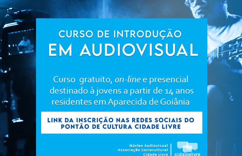 Abertas as inscrições para o curso de Introdução em Audiovisual