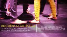 Inscrições abertas para a Residência Artística com o Coletivo Teatro da Margem de Uberlândia - MG
