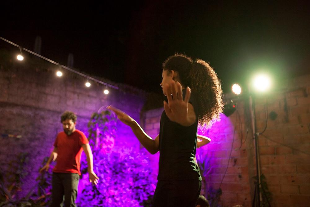 Tardes de Improviso_dia 19/06_ no Ponto de Cultura Cidade Livre. Foto: Luana Brant