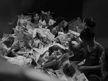 """""""Q"""" do Grupo Corpo Composto, estreia sábado no Teatro Cidade Livre"""