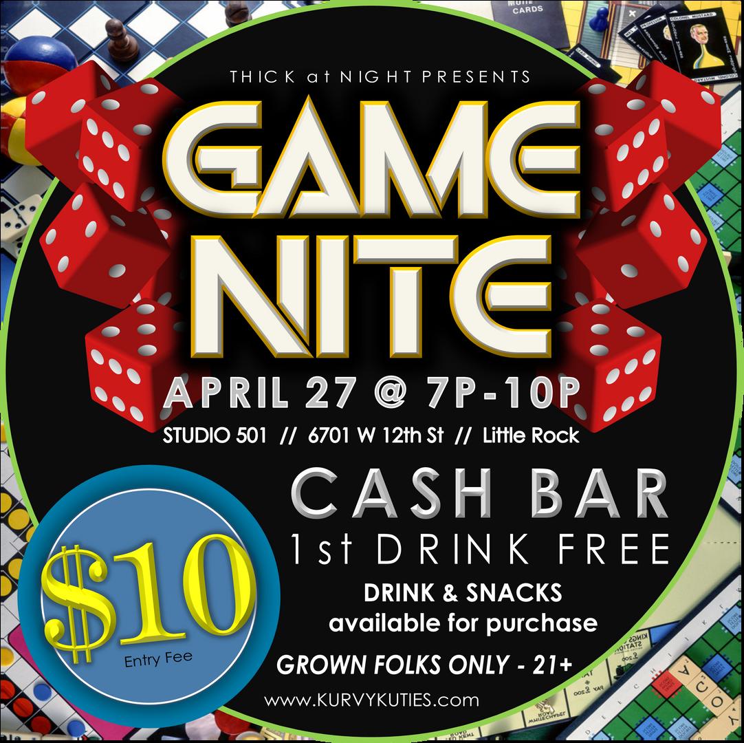 Thick at Night Game Nite