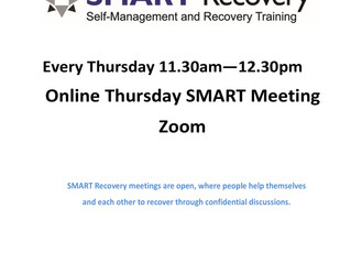 SMART online group for more information email: anneconnaghan@meld-drugs.org.uk
