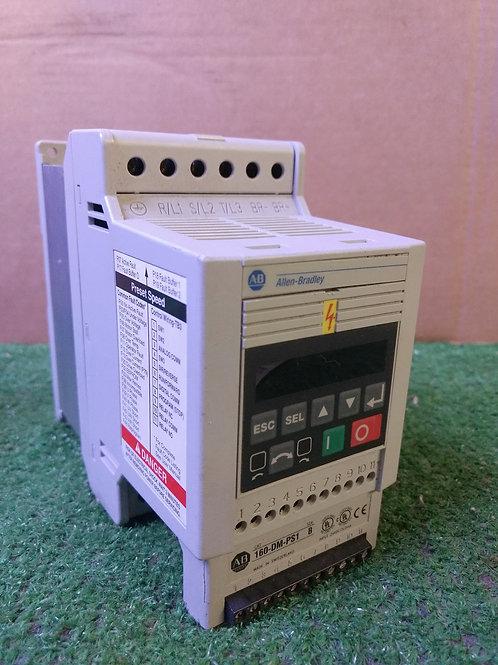 Allen-Bradley 160-BA01NPS1P1 Ser C Preset Speed Controller (pre-owned)